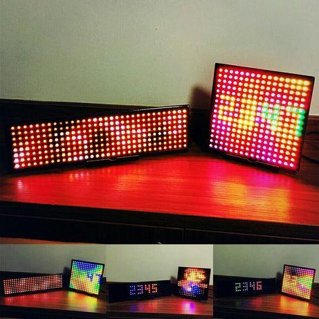 Матрица на адресных светодиодах WS2812 16x16 LED Gyver Arduino ESP STM
