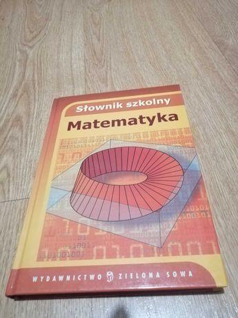 Słownik szkolny matematyczny