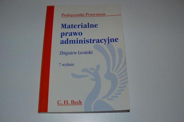 Materialne prawo administracyjne 7 wydanie