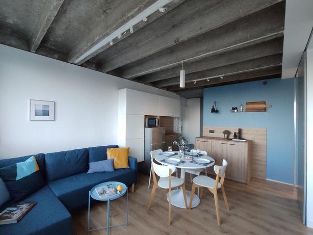 mieszkanie do pracy zdalnej Gdynia z widokiem na morze balkon parking
