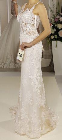 Okazja! Piękna suknia ślubna Ms Moda