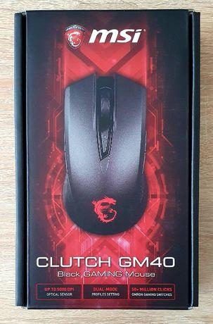 MSI Clutch GM40 Gaming (Czarna)