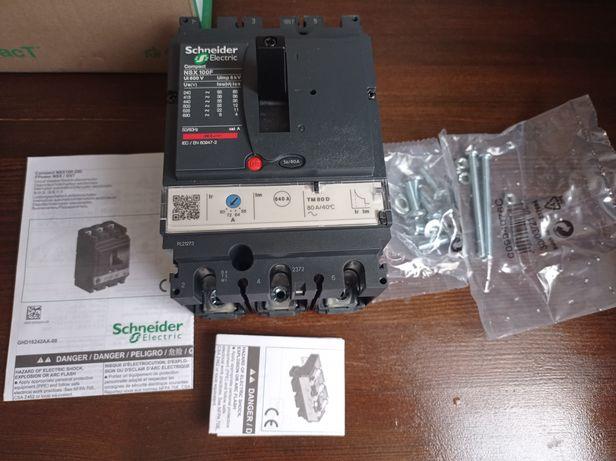 Автомат Compact NSX100F (LV429631)Контактор, выключатель, розетка