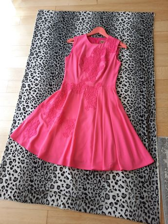 Sukienka Francoise 38, sukienka elegancka, sukienka rozkloszowana