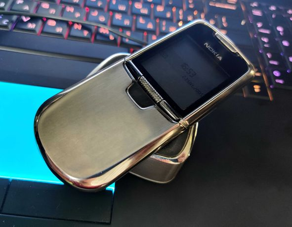Nokia 8800 Classic Silver Edition.Оригинал Made in Germany!
