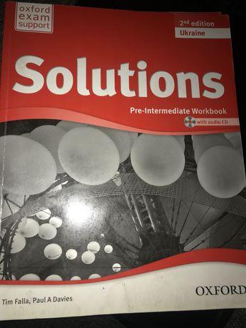 Solutions: Pre-Intermediate: Student Book+Workbook