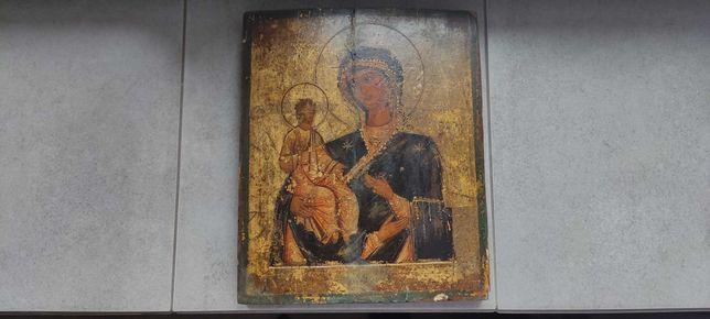 Ikona Matka Boska Trójręka XVIII-XIX wiek