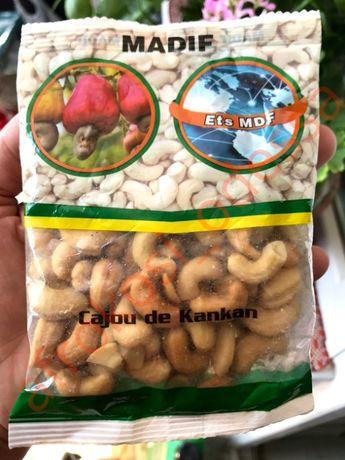 Кешью, арахис поивезенные из Африки