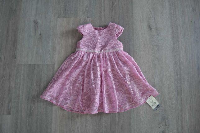 Новое нарядное платье ф. George р. 3-6 мес и дольше с биркой