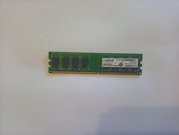DDR2 2gb crucial оперативная память