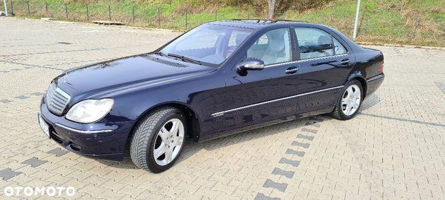 Mercedes-Benz Klasa S V12 long, stan kolekcjonerski! Bezwypadkowy!