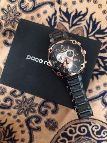 Позолоченные часы Paco Rabanne