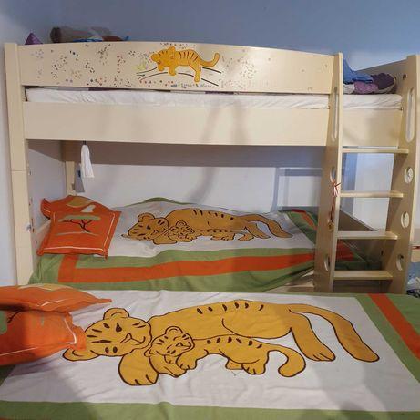 Zestaw mebli MEBLIKa, kolekcja SAWANNA, łóżko piętrowe!