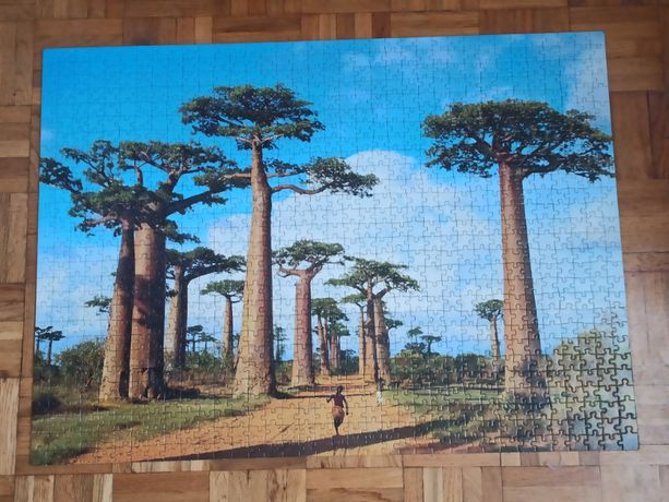 Puzzle Clementoni High Quality Collection 1000 elementów Madagaskar