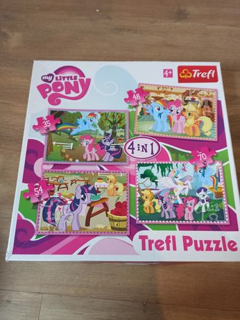 Puzzle my little pony 4+