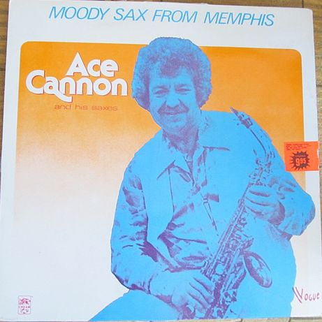 Ace Cannon and his saxes Moody Sax from Memphis lp