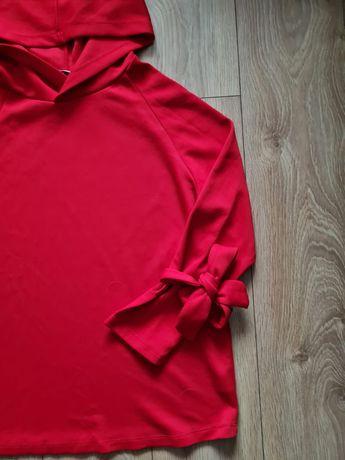 Bluza z kokardką na rękawach L reserved