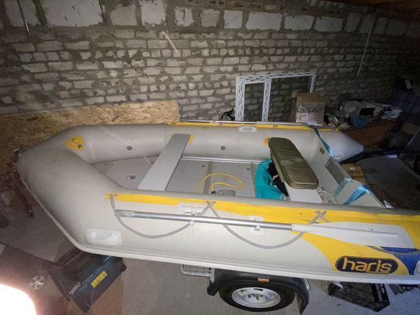 Лодка с мотором Honda 20