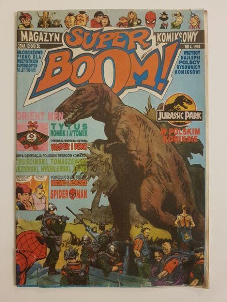 Super Boom Magazyn Komiksowy Nr 4/93
