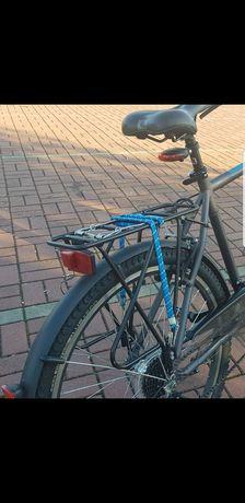 Bagaznik i przedni błotnik rower Kross