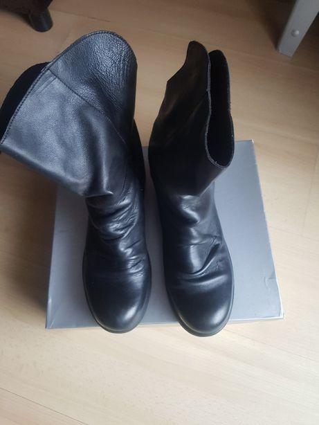 Skórzane włoskie buty