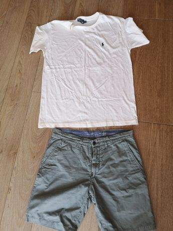 Spodenki spodnie męskie bluzka M
