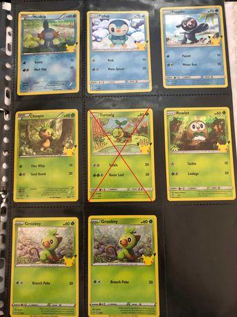 Cartas Pokémon 25 Anos McDonald's - TROCA