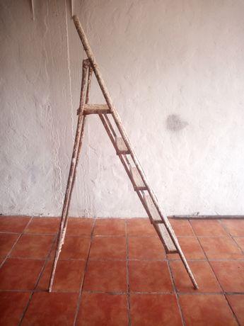 Escada, escadote em ferro vintage, prático duradouro