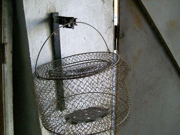 Metalowa siatka na ryby, okrągła