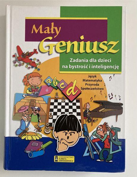"""Książka z zadaniami dla dzieci """"Mały Geniusz"""""""
