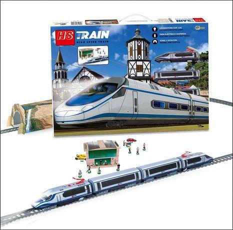 Скоростной поезд Pequetren железная дорога станцией 705