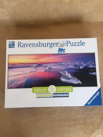 Puzzle Ravensburger, Jezioro Jökulsárlón, 1000 el., panorama