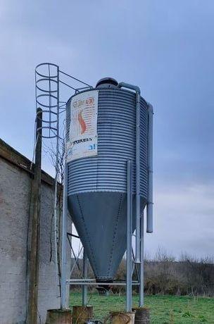 Silo para ração/cereais 8,5 T