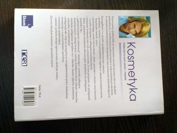 Sprzedam; książkę Kosmetyka- Podręcznik do nauki zawodu!