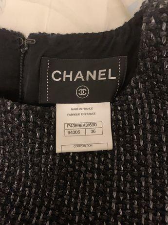 Платье Chanel 36 размер. Оригинал .