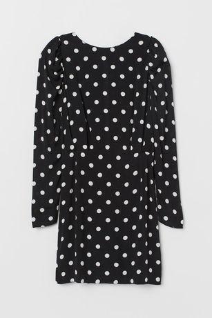Sukienka w groszki h&m 40