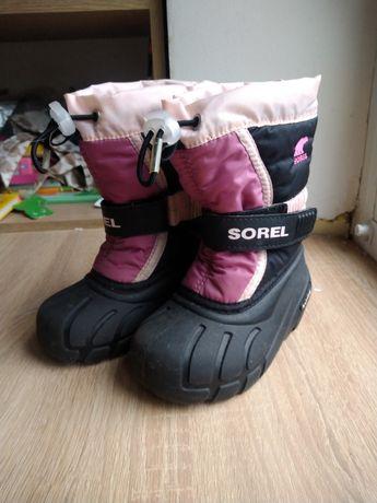 Sorel зимние ботинки, сапоги, р-24, стелька 14.