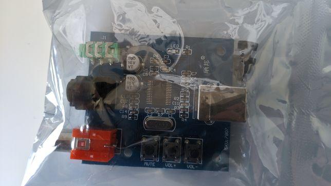 Karta dźwiękowa PCM2704 raspberry pi multiroom
