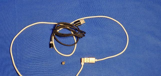 Szybki kabel przewód magnetyczny do ładowania z wymienną końcówką 2A