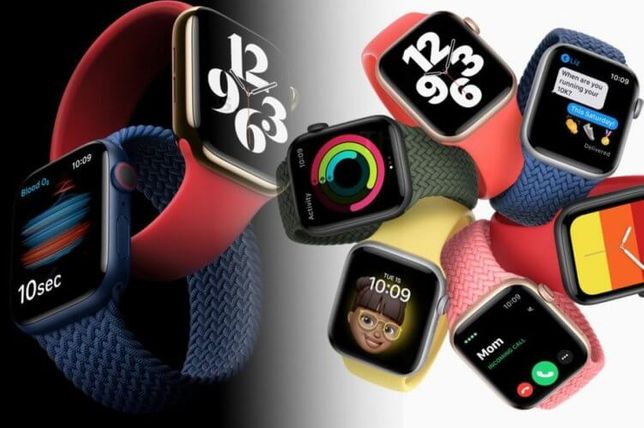 Apple Watch 6 40/44mm (Всі кольори) Магазин-Кредит-Гарантія