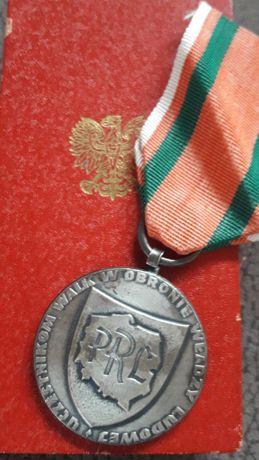 """Medal """"Za udział w walkach w obronie władzy ludowej"""""""