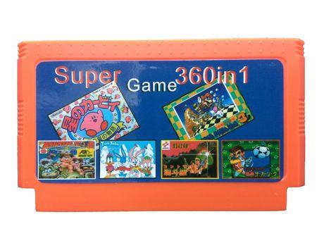 Dyskietka Pegasus 360in1 gier BEZ POWTÓREK - Contra Mario Tank Goal 3