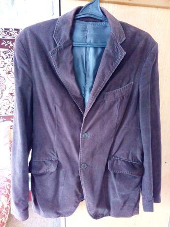 Фирменный вельветовый пиджак