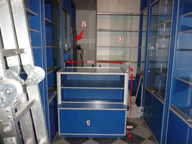 Торговое оборудование витрины прилавок