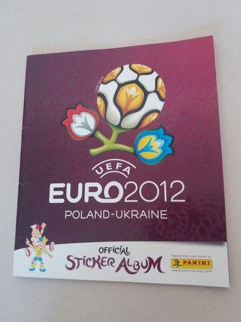 Caderneta de cromos Euro 2012 - Panini