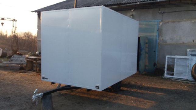 Причіп-фургон, холодильник, рефрижиратор, термобудка.
