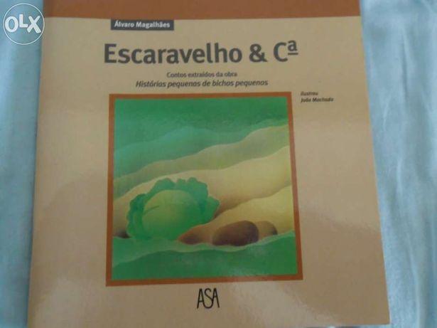 """Livro """"Escaravelho & Companhia"""""""