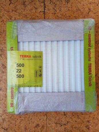 Новый в упаковке стальной панельный радиатор Terra teknik 500 22 500