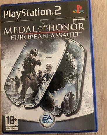 Gra PS2 medal od honor stan idealny