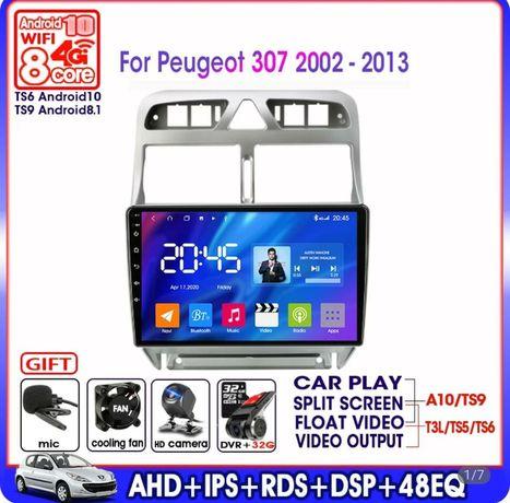 Radio android peugeot 307 Navi GPS Wifi kamera bluetooth USB